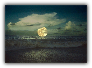 moonrise from jupiter island
